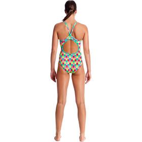 Funkita Diamond Back One Piece Swimsuit Women Minty Mittens